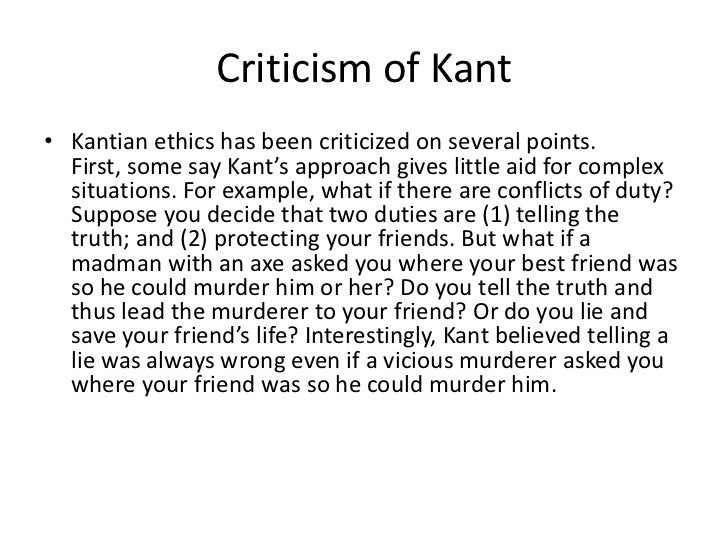 kant and abortion Starting from this horizon we have the consequentialist and deontological dimensions related to the abortion cases the bioethical dimension in which we will discuss the issue of abortion involves both dimensions and horizons the arguments against abortion seem to rely rather in the deontological horizon of kantian type,.
