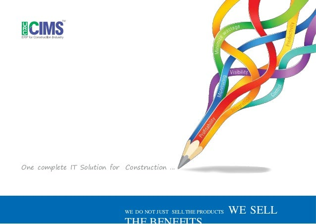 One complete IT Solution for Construction ... WE DO NOT JUST SELL THE PRODUCTS WE SELL