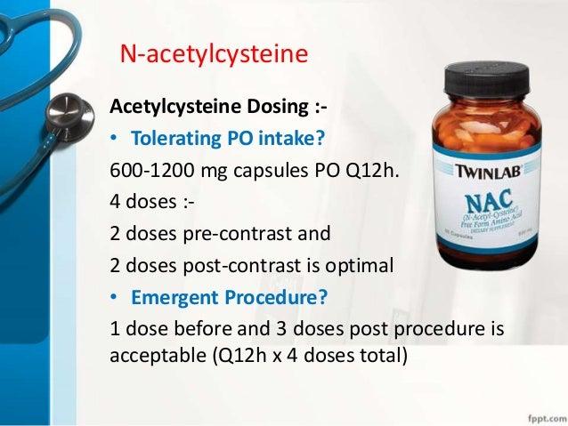 Acetylcysteine Solution - FDA prescribing information ...