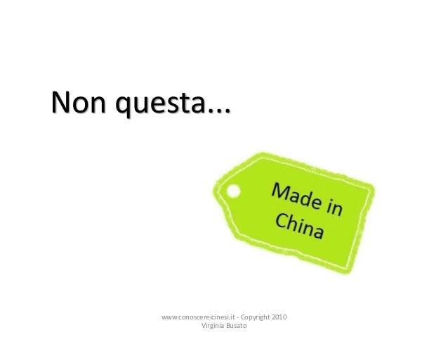 Cina   l'etichetta Slide 3