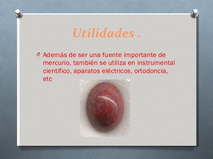 Cinabrio mineral - Utilidades del yeso ...