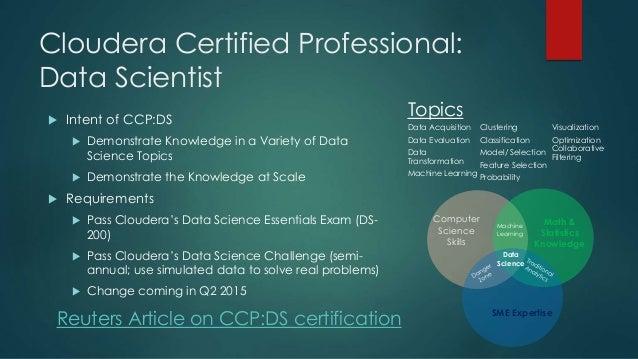 Cloudera Data Science Challenge