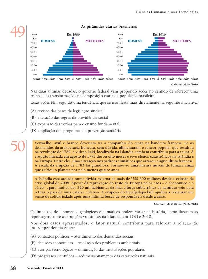 Ciências Humanas e suas Tecnologias49                                     As pirâmides etárias brasileiras                ...