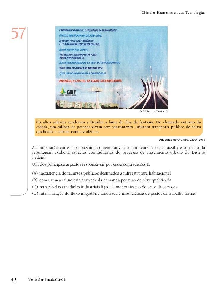 Ciências Humanas e suas Tecnologias57                                                                   O Globo, 21/04/201...