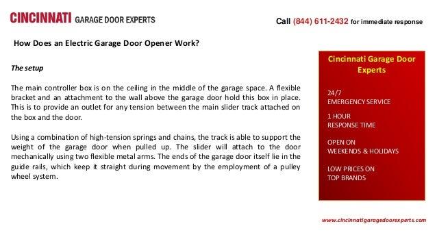 How Does An Electric Garage Door Opener Work
