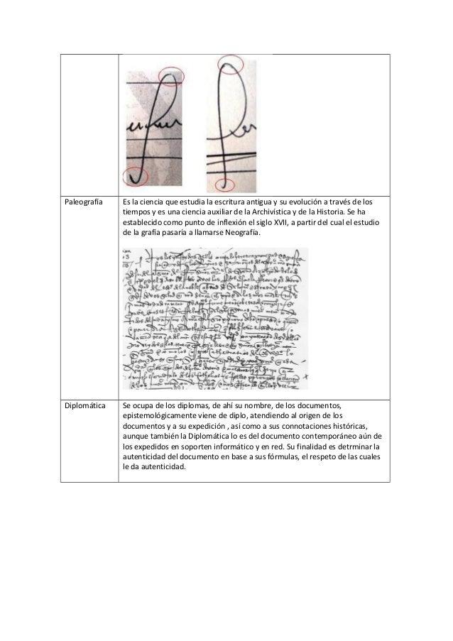 Paleografía   Es la ciencia que estudia la escritura antigua y su evolución a través de los              tiempos y es una ...