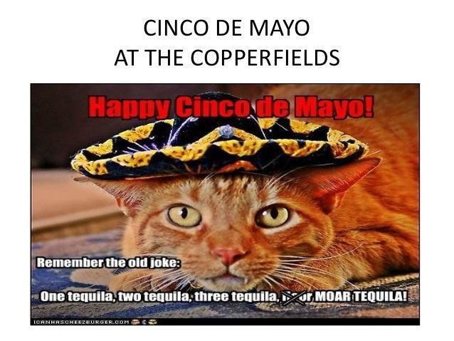 CINCO DE MAYO AT THE COPPERFIELDS