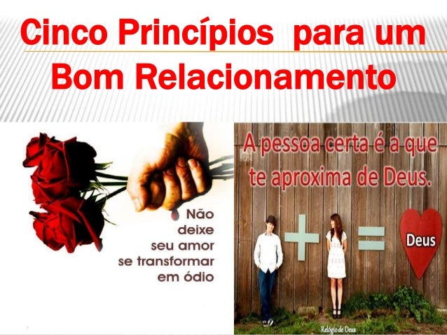 Cinco Princípios para um Bom Relacionamento