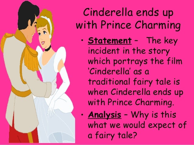 analytical essay cinderella
