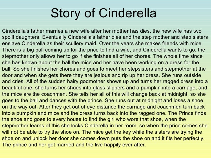 Cinderella research