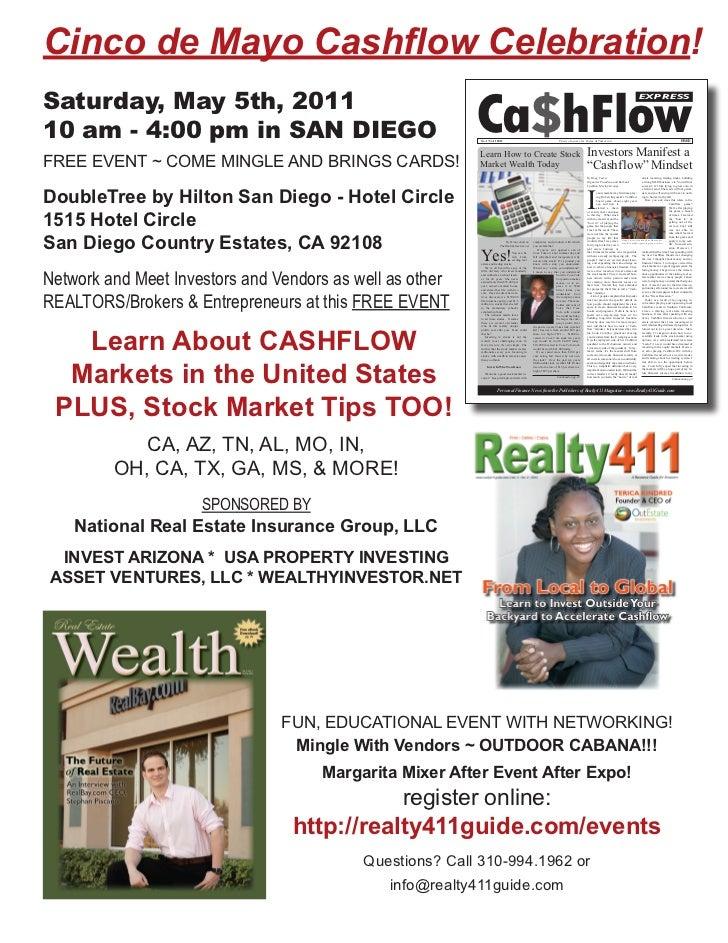 Cinco de Mayo Cashflow Celebration!Saturday, May 5th, 2011                                                          Ca$hFl...
