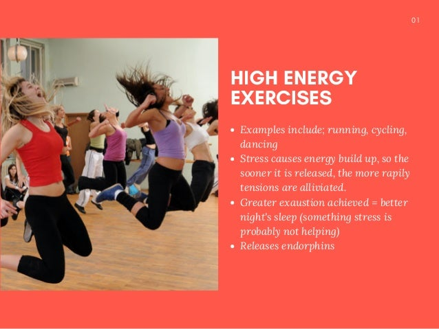 Stressed Out? Work It Out! Slide 2