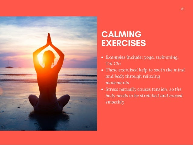 Stressed Out? Work It Out! Slide 3