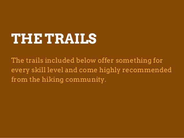 Best Fall Hiking Trips by Cindy Laquidara Slide 3