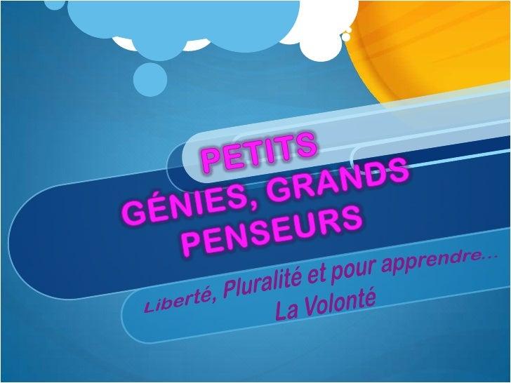 """INTRODUCTIONLinstitut des Études Multiculturels et de Langues Étrangères""""Petits génies, Grands Penseurs"""" est un etablissem..."""
