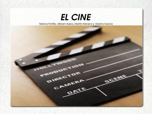 ELCINE                  MarinaPortillo,MiriamRubio,MartínMorenoyVioletaGarcia