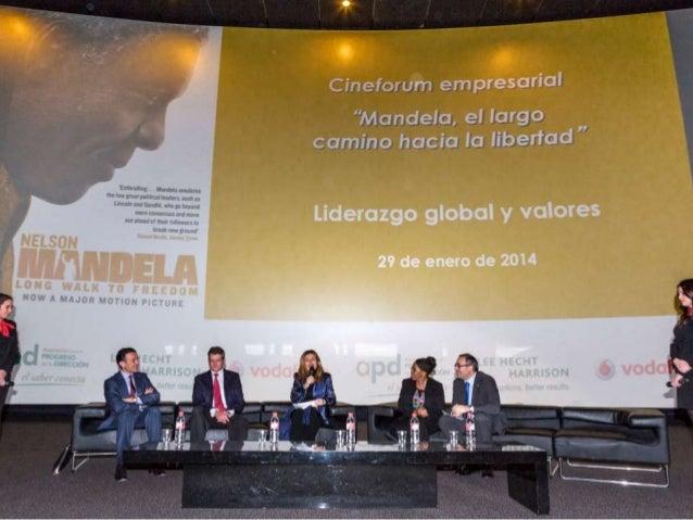 Cineforum Nelson Mandela - Nekane Rodríguez de Galarza