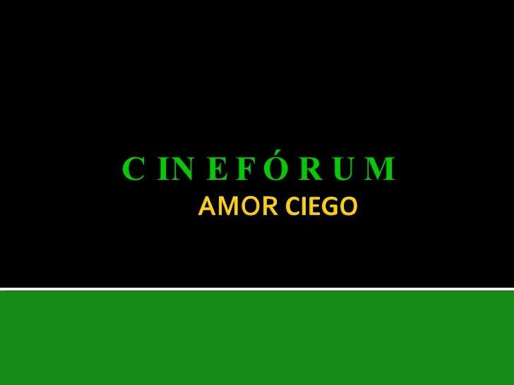 CINEFÓRUM