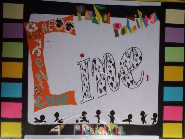 Cine libro viajero EL CINE 3º primaria 2013-14
