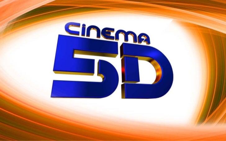 ApresentaçãoO Cinema 5D é um projeto de entretenimento eimersão que uni tecnologia e aventura de uma maneirainovadora e at...