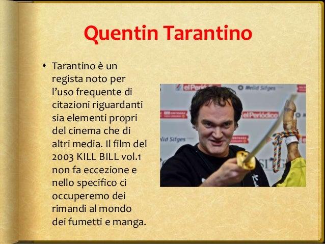 Cinema E Fumetto Kill Bill Vol 1