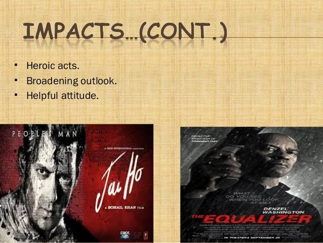 impact of cinema on society About the role of cinema in social awareness.