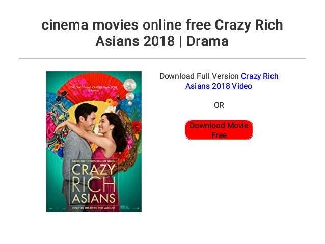 Cinema Movies Online Free Crazy Rich Asians 2018 Drama