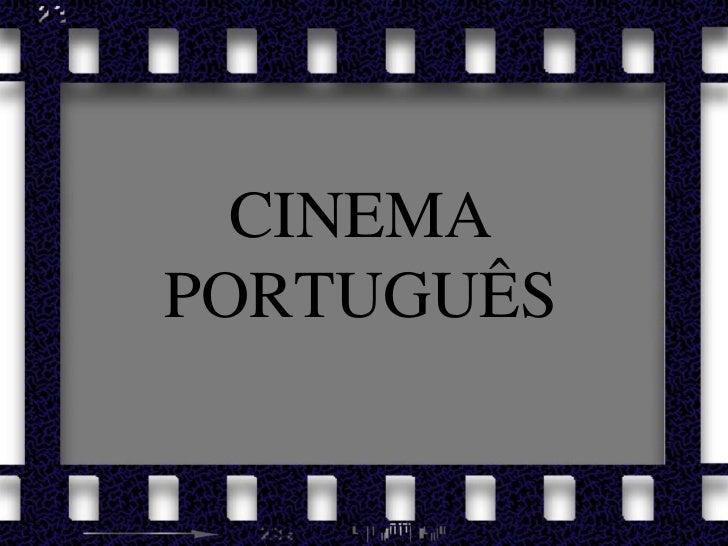 CINEMA PORTUGUÊS<br />