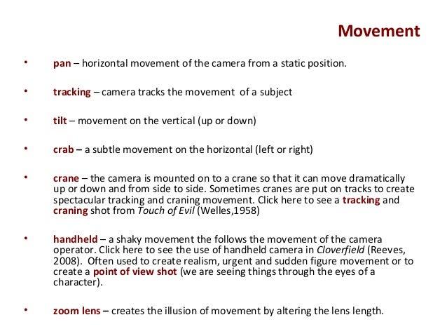 illusion of movement in film