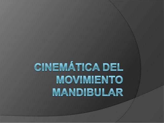 CINEMÁTICA Se define como el estudio del movimiento de un cuerpo (Cualquier cambio de posición o lugar)