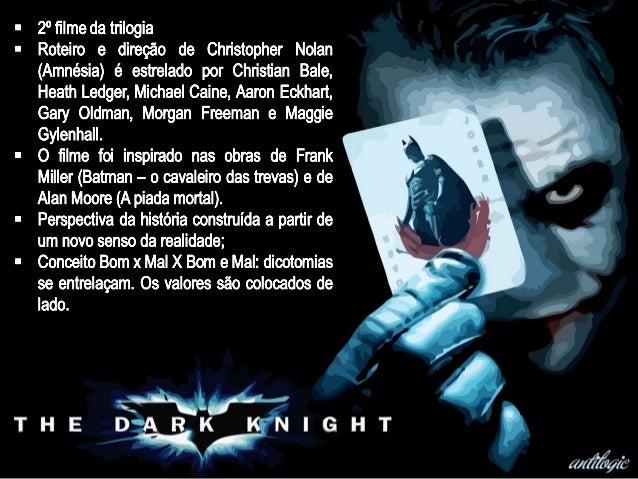 Análise de Batman - O Cavaleiro das Trevas (Cine Qua Non)