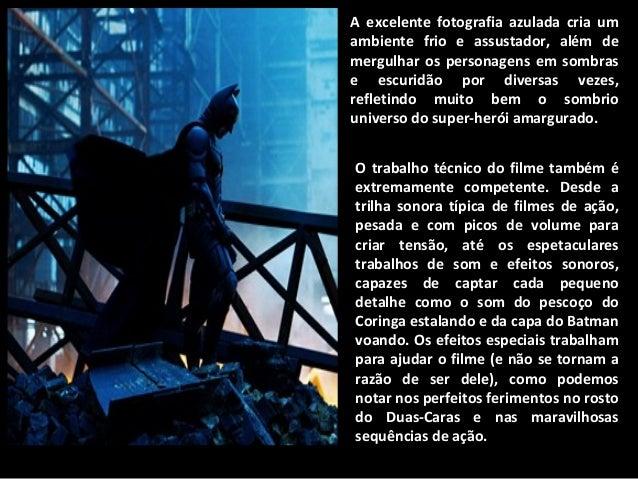 Análise De Batman O Cavaleiro Das Trevas Cine Qua Non