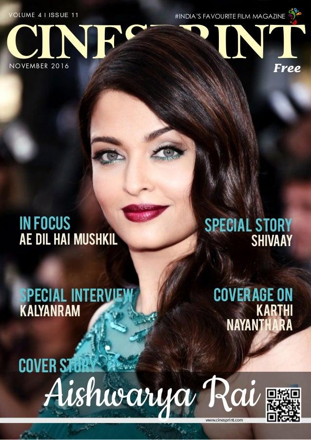 Cinesprint Magazine November 2016