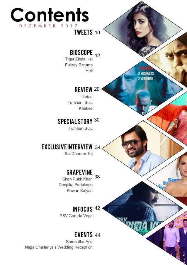 Cinesprint magazine december _2017