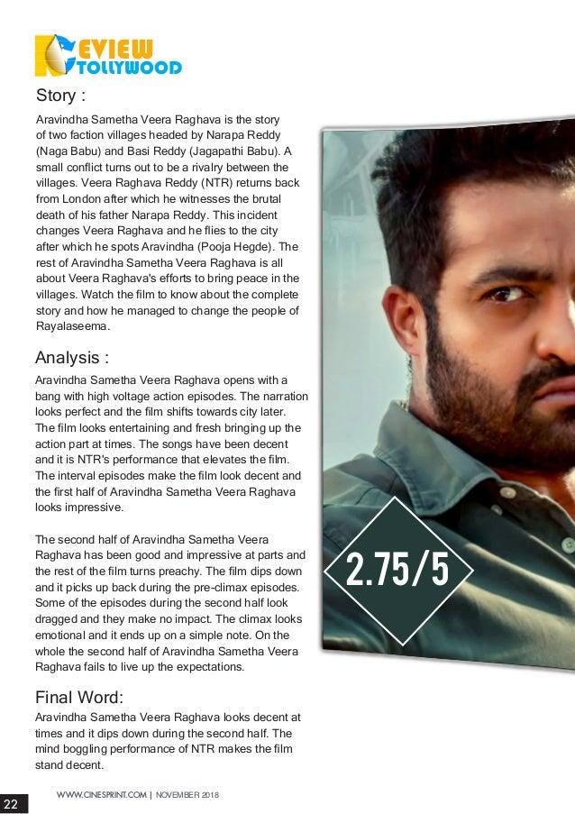 Cinesprint Magazine November_2018