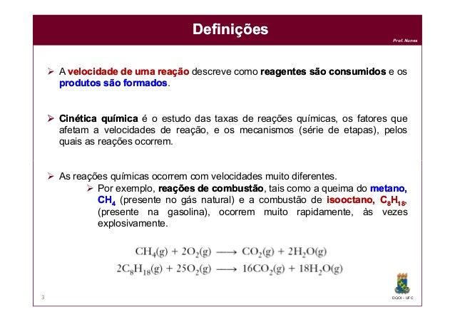 Cinética Química Slide 3