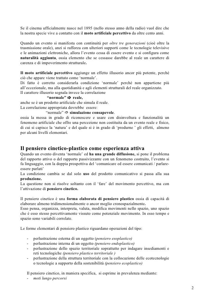 Cinetico Plastico Slide 2