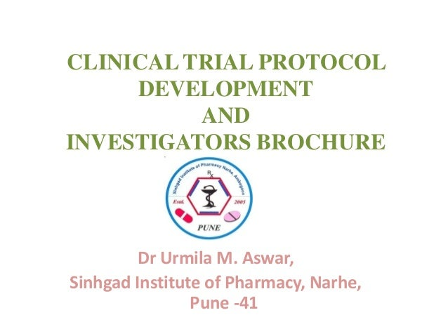 Cinical Trial Protocol Writing