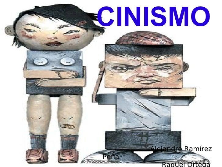 CINISMO           Alejandro Ramírez Peña