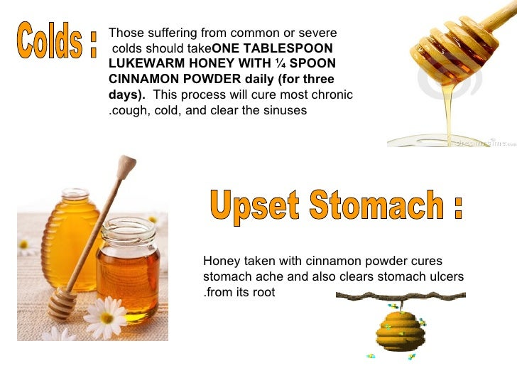 Honey And Cinnamon For Cough