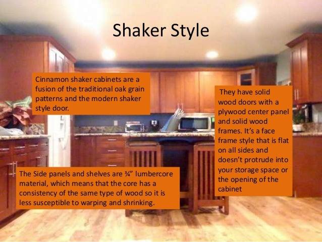 Shaker Style Cinnamon Shaker Cabinets ...