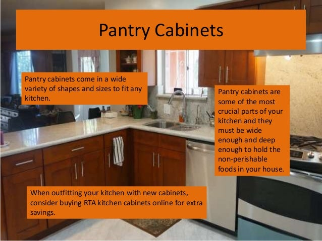 3. Pantry Cabinets ...