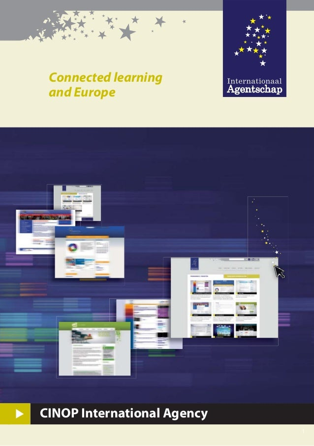 Connected learning and Europe 1 ★ ★ ★ ★★ ★★ ★ ★ ★ ★ ★ ★★ ★ ★ ★ ★ ★ ★ ★ ★ ★ ★ ★ CINOP International Agency