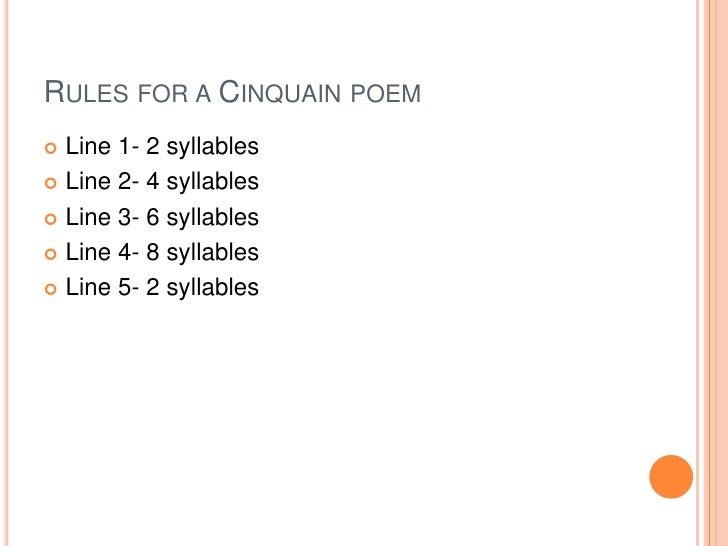 writing a 4 line poem