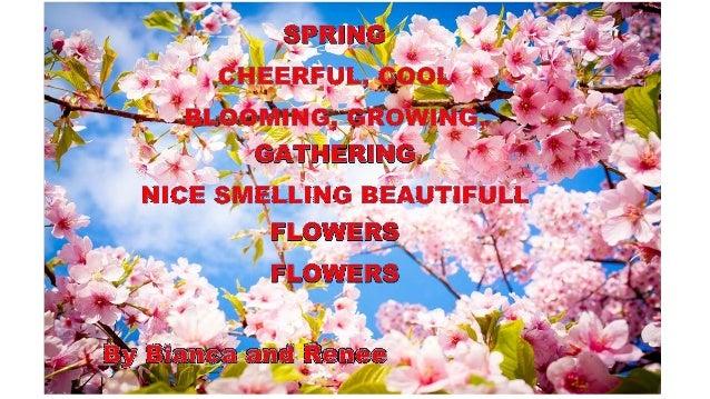cinquain poem about flowers - photo #2