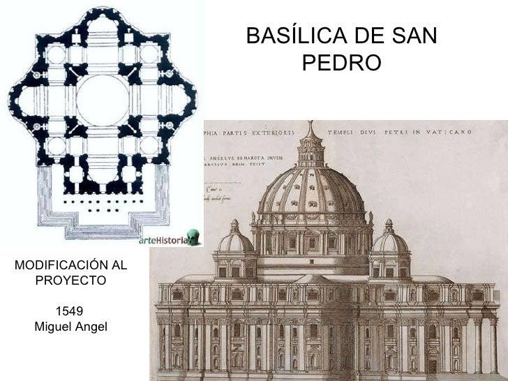 Cinquecento arquitectura - Arquitectura miguel angel ...