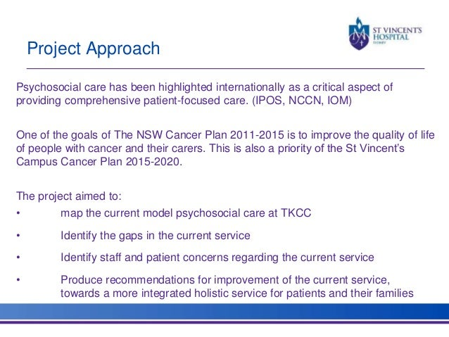 An integrated model of psychosocial cancer care: a work in progress…