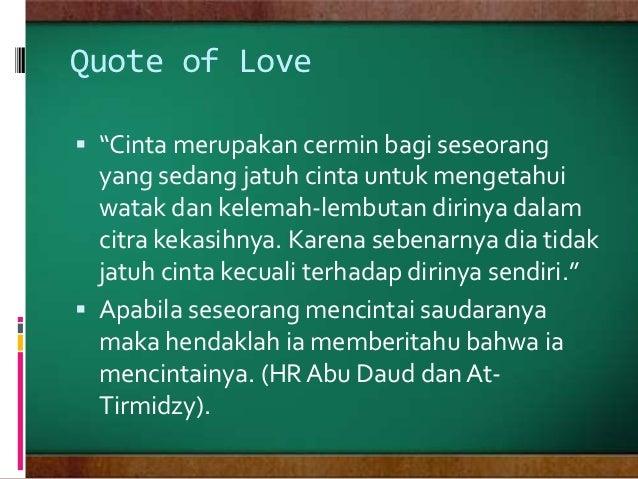 cinta dalam pandangan islam