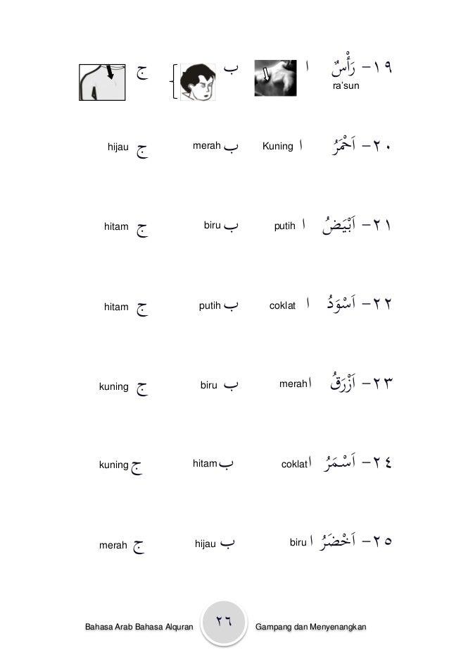 Cinta Bahasa Arab Kelas 1 31 26bahasa Gambar