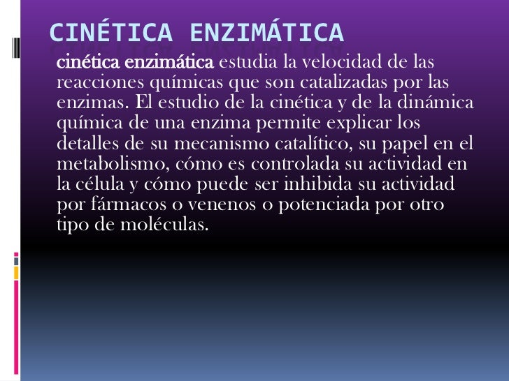 CINETICA ENZIMATICA UNAM EBOOK